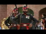 Церемония закрытия индо-пакистанской границы